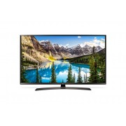 "LG 49UJ635V 49"" 4K UltraHD TV, 3840x2160, DVB-T2/C/S2, 1600PMI, Smart webOS 3.5, Active HDR, 360 VR, WiDi, WiFi 802.11ac, Bluetooth, Miracast, LAN, CI, HDMI, USB, TV Recording Ready, Cresent Stand, Black"