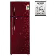 LG GL-D302RPJL 285 Litres Double Door Frost Free Refrigerator (Wine Gardenia)