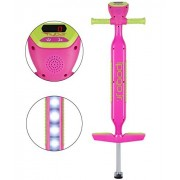 Flybar iPogo Jr. - Worlds First Interactive Counting Pogo Stick For Kids Ages 5 to 9 (Pink)