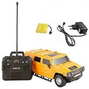 Fantasy India Yellow Remote Control Rechargeable Hummer Toy Car - 1:24 Scale