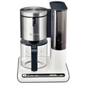Filtru de cafea Bosch TKA8631, 1160 W (Alb/Inox)