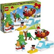 LEGO (LEGO) Duplo duplo (R) town 'Santa and snow play' 10837