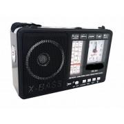 Radio portabil , ceas, usb stick Mp3, lanterna cu acumulator alimentare 220v si baterii XB-401C