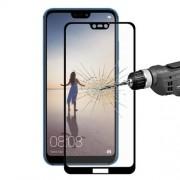 Geam Folie Sticla Protectie Display Huawei P20 Lite / Nova 3e Acoperire Completa Negru