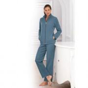 Charmor Fleece-Homesuit, 38 - Petrol