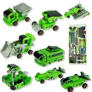 Creative DIY 7 IN 1 Educational Learning Power Solar Robot Kit Children Kids Popular Toy