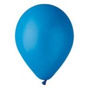 100 baloane rotunde albastru standard 30 cm