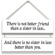 100yellow Quotation Printed Wall Door Hanging Board Plaque Sign For Wall Dcor (7 X 12 Inch)