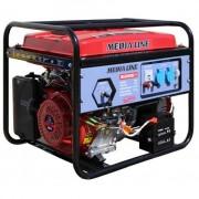 Generator curent electric MLG 6500E/1 , putere 6.5 kVA , pornire electrica , rezervor 25 l