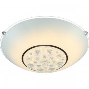 Plafonier diam.30cm, cristale K5, LED Louise 48175-12 GL