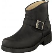 Johnny Bulls Very Low Boot Zip Back Black/Silver, Skor, Kängor och Boots, Chelsea Boots, Svart, Dam, 37