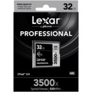 Lexar 3500X 32 GB Compact Flash Class 10 525 MB/s Memory Card