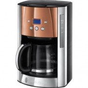 Cafetiera Russell Hobbs Luna Copper Accents 24320-56, 1000 W, 1.8 l , 14 cesti, Inox/Cupru