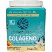 Colágeno Vegano 500 grs Vainilla Sunwarrior Keto