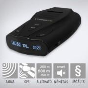 KIYO VTX950 RADAR ÉS LÉZERDETEKTOR GPS ADATBÁZISSAL