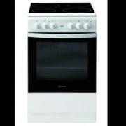 Готварска печка Indesit IS5V8GMW/E, клас А, 58 л. общ обем, 4 котлона, 8 фукнции на фурната, механичен таймер, бяла