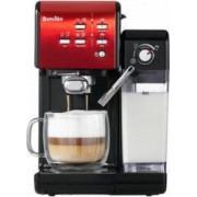 Espressor Breville Prima Latte II VCF109X-01 1.5L 19 bari Recipient lapte 600ml Rosu-Negru