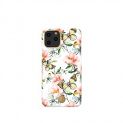 KINGXBAR Flower Series PC Phone Shell with Magnetic Sheet for Apple iPhone 11 Pro Max 6.5 inch - Butterfly
