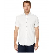 Robert Graham Modern Americana Bozeman Short Sleeve Woven Shirt White