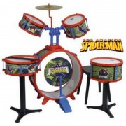 SET TOBE SPIDERMAN BATERIE REIG MUSICALES