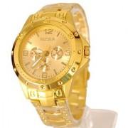 i DIVA'S Rosra Watches For Men- Golden Watch By HansHouse