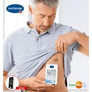Electrocardiograf portabil (ECG / EKG) si tensiometru de brat Veroval, validat clinic, transfer date, 2 utilizatori, 3 ani garantie + Glucometru Fora GD50