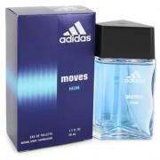Adidas Moves For Men By Adidas Eau De Toilette Spray 1.7 Oz