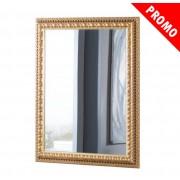 PROMO ! Miroir en feuille d'or vieillie
