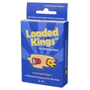 Loaded Kings The Drinking Card Game (Waterproof Playing Cards)
