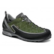Asolo: Apex GV MM - pánské boty Barva: grey/rifle green, Velikost: 7.5