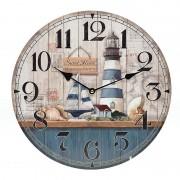 Ceas de perete din lemn Navy
