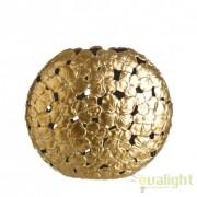 Vas decorativ din ceramica Allie L auriu DZ-102762
