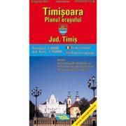 Timisoara - Planul orasului/***
