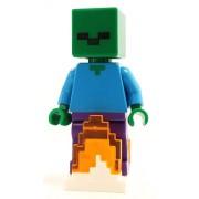 min069 Minifigurina LEGO Minecraft-Zombie min069