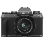 Fujifilm X-T200 + 15-45mm Xc F3.5-5.6 Ois Pz - Dark Silver - 4 Anni Di Garanzia In Italia