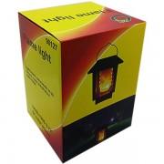 Felinar de gradina Lampa Solara LED cu efect flacara