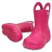 Crocs Kids' Handle It Rain Boot Candy Pink 32-33