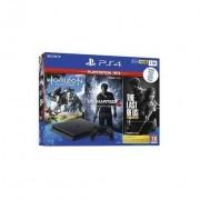 Sony 9932505 Ps4 1 Tb Wifi + Horizon Zero Dawn + The Last Of Us + Uncharted 4