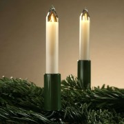 Hellum Magnificent 10-bulb candle string lights