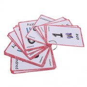 Baoblaze 35 Pieces First Words Flash Cards Set Educational Learning Pocket Card Activity Fun Cards, Number