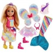 BARBIE DREAMTOPIA DOLL AND FASHIONS ASST - FJC99