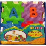 "Verdes 6"" Alphabet n Numbers Foam Puzzle"