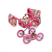 Knorrtoys Knorr Toys Knorr63198 Combi Ruby Wild Patterns Dolls Pram and Buggy