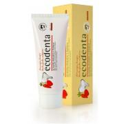 Ecodenta Pastă de dinți cu aromă de căpșuni pentru copii (Wild Strawberry Scented Toothpaste For Children) 75 ml