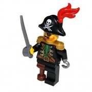 LEGO Pirate Captain with Sword Minifigure