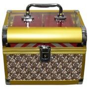 Pride Crown to store cosmetics Vanity Box (Yellow)