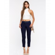 CheapChic After Hours Skinny Pant Navy