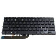 Tastatura laptop Dell XPS 13 9343 9350 9360 iluminata layout US enter mic dreptunghic