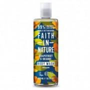 Faith in Nature Grapefruit és Narancs tusfürdő - 400ml