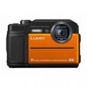 Panasonic Digitální fotoaparát Panasonic DC-FT7EG-D, 20.4 MPix, Zoom (optický): 9 x, oranžová, černá